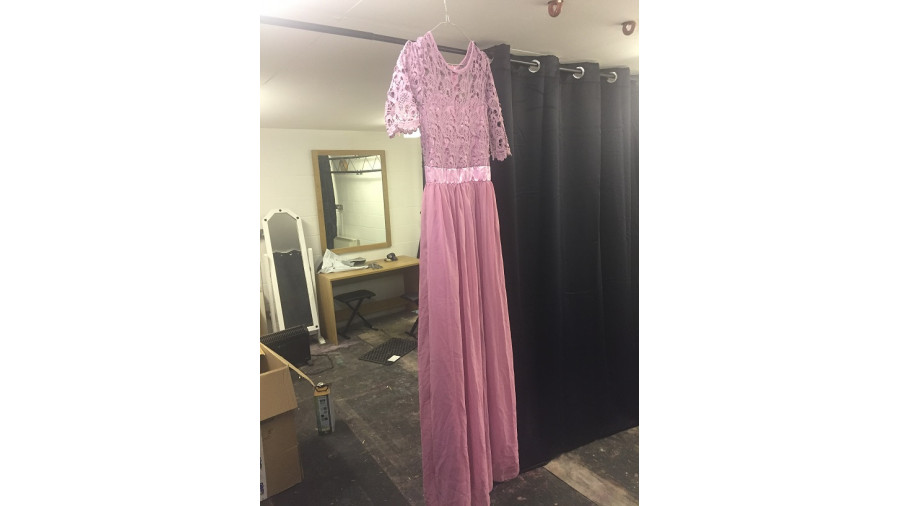 Pink Dress from Apartment 19 Christmas Special